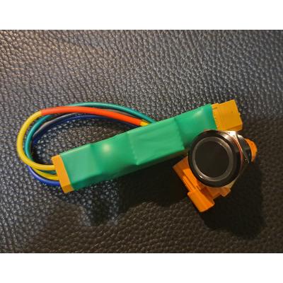 Транзисторный выключатель с кнопкой