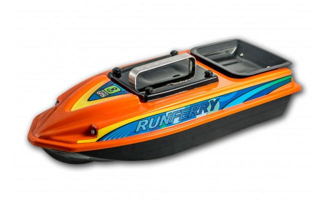 Карповый кораблик Runferry ATOMPremium FULL GPS Autopilot / Глубиномер, 15 Am/h, Lucky 918