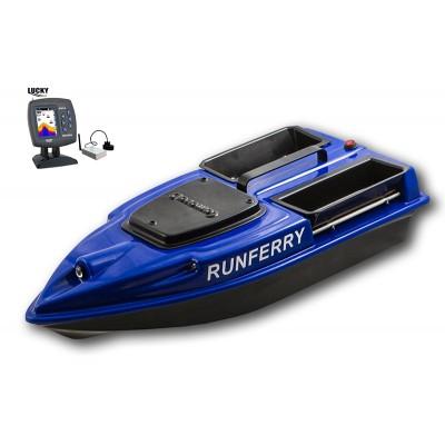 Карповый кораблик Camarad V3 + Lucky 918 Blue