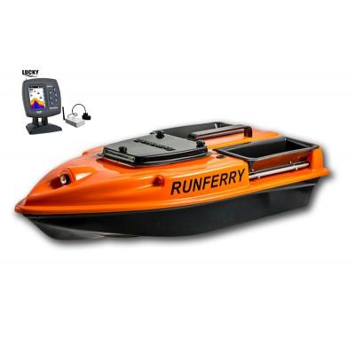 Карповый кораблик Camarad V3 + Lucky 918 Orange
