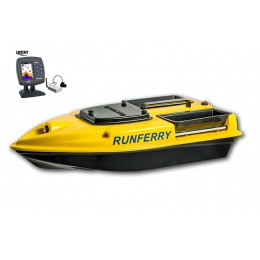 Карповый кораблик Camarad V3 + Lucky 918 Yellow