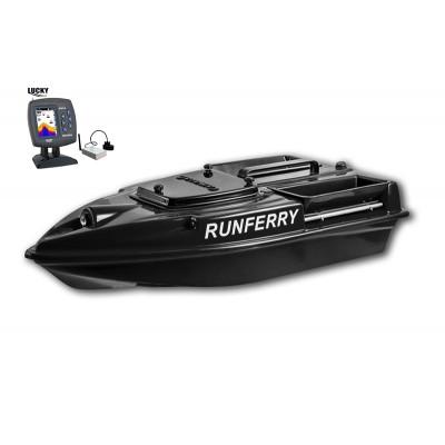Карповый кораблик Camarad V3 + Lucky 918 Black