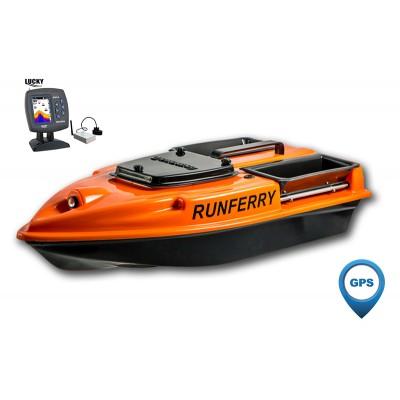 Карповый кораблик Camarad V3 GPS + Lucky 918 Orange