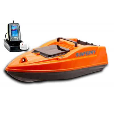 Карповый кораблик SOLO V2 + Toslon TF500 Orange