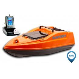 Карповый кораблик SOLO V2 GPS + Toslon TF500 Orange