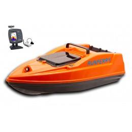 Карповый кораблик SOLO V2 + Lucky FF918 Orange