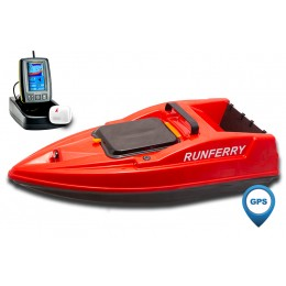 Карповый кораблик SOLO V2 GPS + Toslon TF500 Red