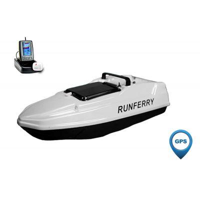 Карповый кораблик SOLO MINI GPS + Toslon TF500 White